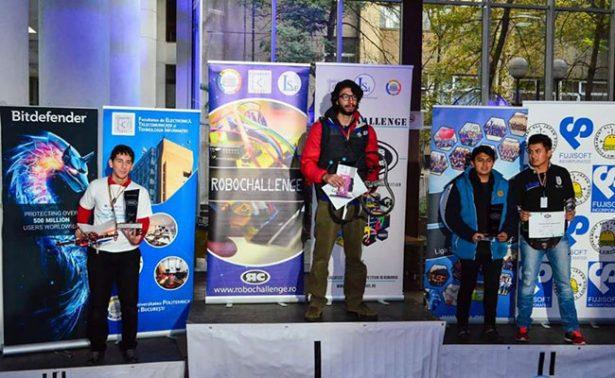 Politécnicos logran segundo lugar en el RobotChallenge de Rumania