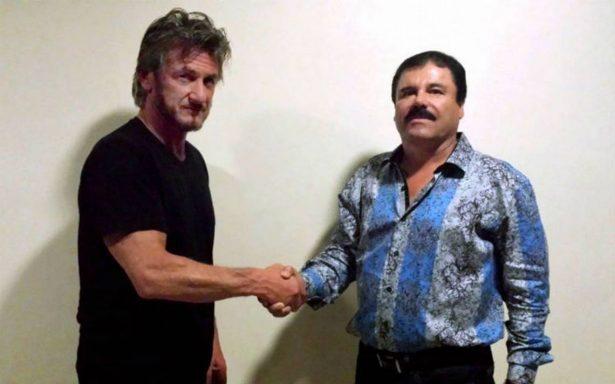 """Acuerdan excluir a Sean Penn de juicio a """"El Chapo"""" en Nueva York"""