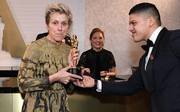 """""""Tengo cosas qué decir"""", el poderoso discurso de Frances McDormand tras ganar el Oscar"""