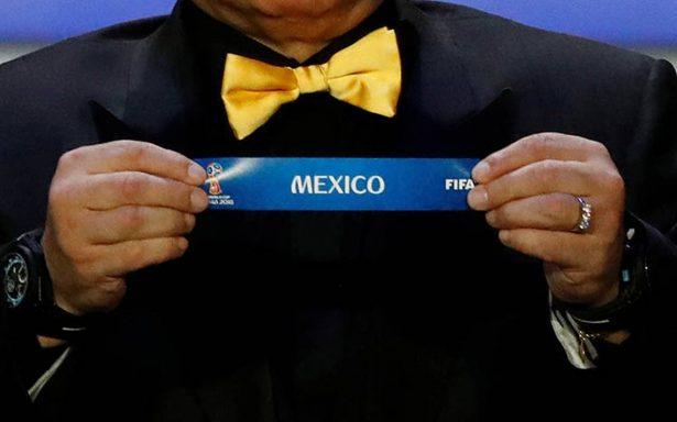 México contra Alemania, Suecia y Corea, este es el calendario para Rusia 2018