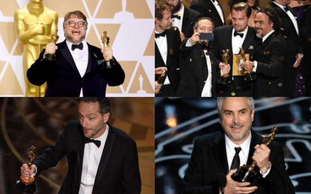Cómo tres directores mexicanos conquistaron los Oscar en cinco años