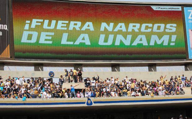 Pumas se deslinda de narcomenudista detenido en CU