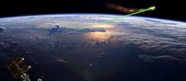 ¿El futuro? China planea eliminar basura espacial con rayos láser