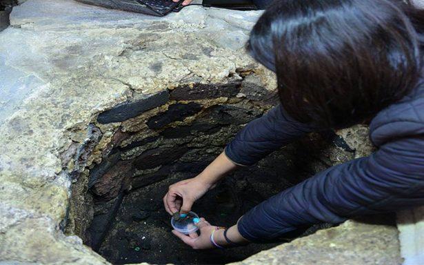 Hallan otro entierro infantil dedicado a Huitzilopochtli