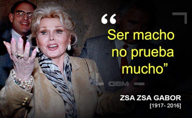 ZSA ZSA GABOR
