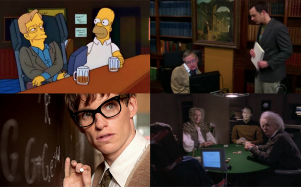 Stephen Hawking también fue un genio del humor en la TV