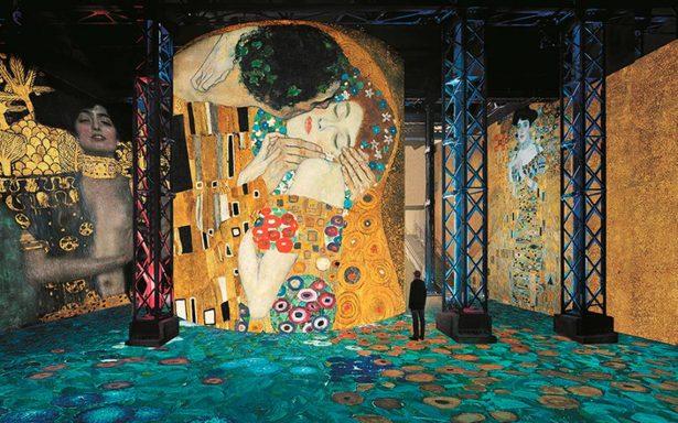 """[Video] """"El Beso"""" y """"Judit I"""" de Gustav Klimt ¡cobran vida en París!"""