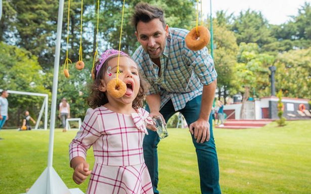 Papás famosos disfrutaron de una convivencia para festejarlos