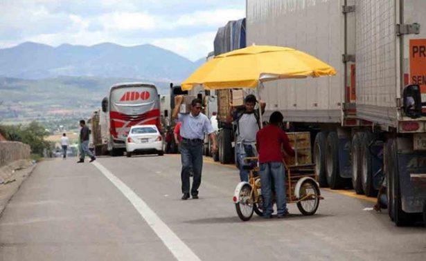 CNTE retoma bloqueo en Nochixtlán