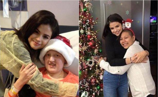 Selena Gomez sorprende con visita a hospital infantil