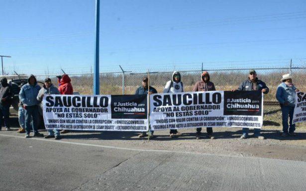 Emilio Álvarez Icaza se une a la caravana anticorrupción de Javier Corral