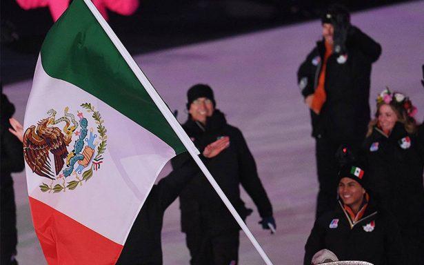 Así desfiló la delegación mexicana en apertura de Juegos Olímpicos de Invierno 2018