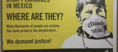 Amnistía protesta en Feria de Hannover contra violaciones de DH en México