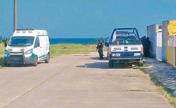 Encuentran cadáver en playa de Coatzacoalcos