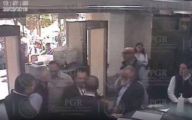 Video de Anaya en la SEIDO no viola ninguna norma: PGR