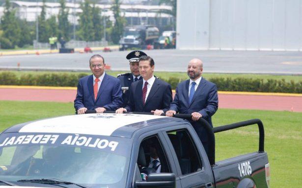 Resultados en seguridad, lejos de ser satisfactorios, reconoce Peña Nieto