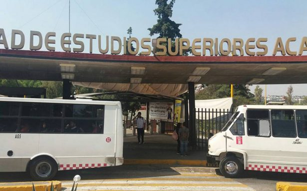 Estudiantes de FES Acatlán exigen a Naucalpan mayor seguridad