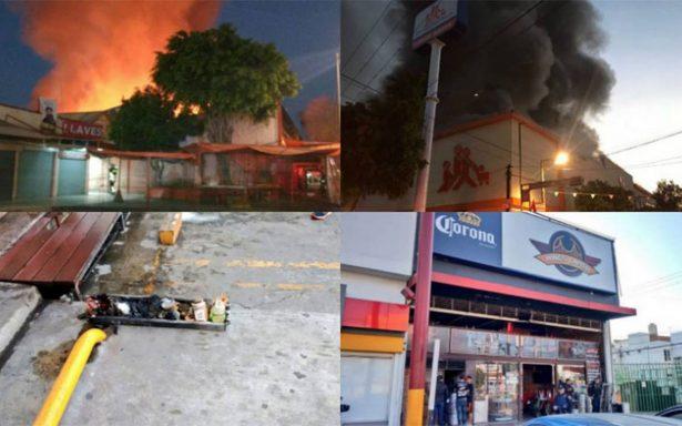 Suman cuatro incendios en el Valle de México