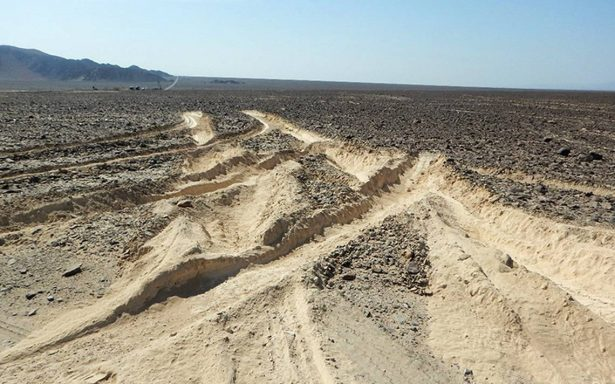 Camionero queda en libertad tras dañar milenarias líneas de Nazca