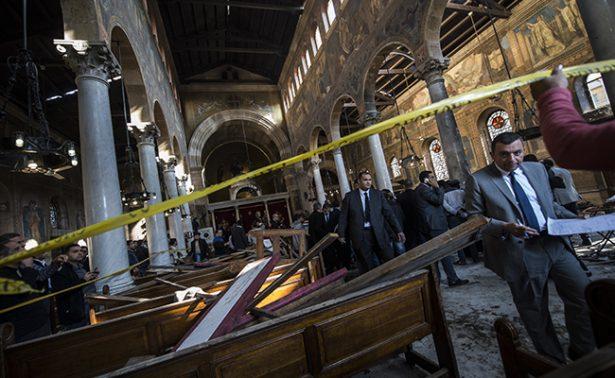 México condena atentado en iglesia de El Cairo, Egipto