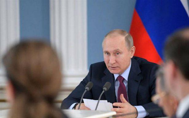 Putin ordenó derribar avión que amenazaba Olímpicos de Invierno de 2014