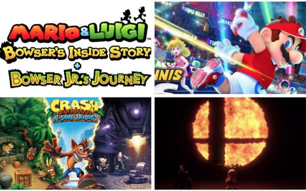 Smash Bros y 6 novedades más que llegan a Nintendo Switch