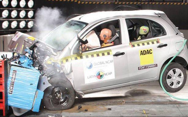 ¿Bolsas de aire, control de estabilidad? Descubre que tan seguro es tu auto