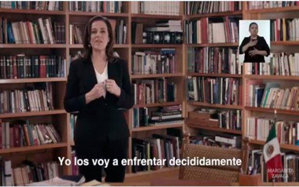 Margarita se lanza contra AMLO en primer spot; promete fortalecer seguridad