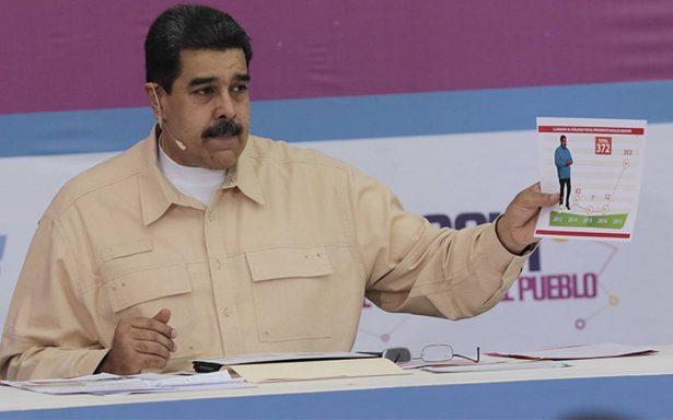 Maduro exige a seguidores 10 millones de votos para su reelección