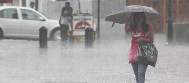 Tormentas de intensas a muy fuertes afectarán 10 entidades del país