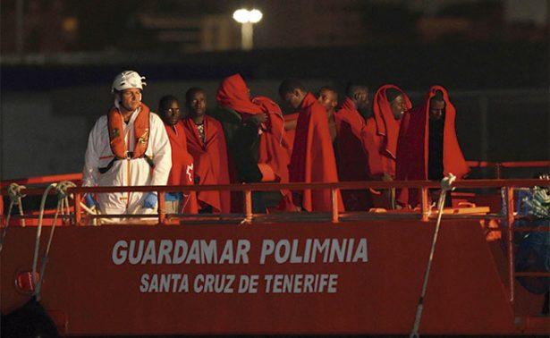 Traficantes arrojaron a 300 inmigrantes al mar en apenas 24 horas