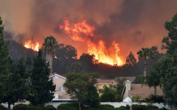 El calentamiento global, responsable de incendios forestales