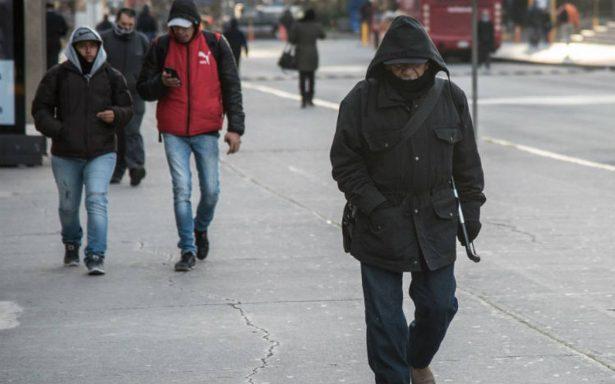 Esperan 16 frentes fríos en el país de octubre a diciembre