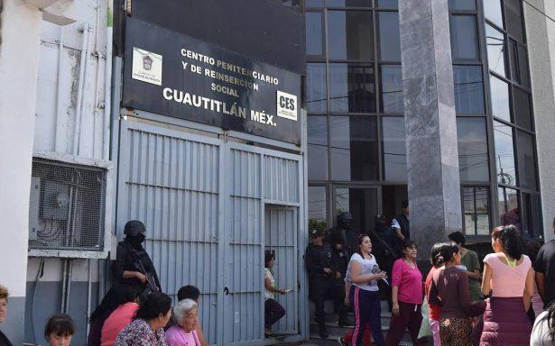 Detienen a dos custodios por fuga de reos en penal de Cuautitlán