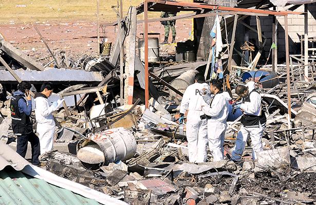El recuento de los daños tras la tragedia que enlutó a San Pablito