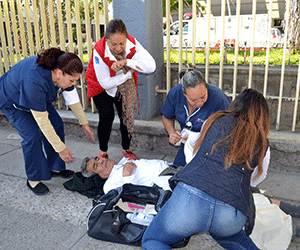 Evacuan el DIF municipal en simulacro de incendio