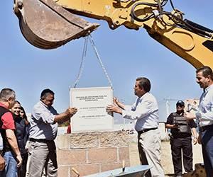 Inicia construcción de edificio policial