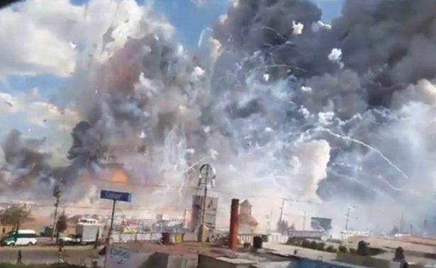 Tultepec registra séptima explosión de polvorín en lo que va del año