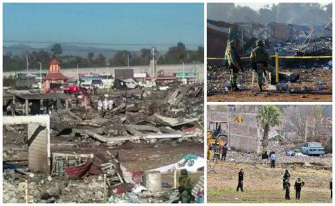 Explosión en San Pablito Tultepec impacta a medios en el mundo