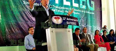 Destaca Gobernador labor del SUTEEEG