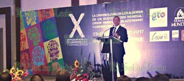Inicia el X Simposium mundial de Criminología y Criminalística
