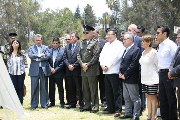 Iniciará la construcción de brigada de la Policía Militar en Irapuato