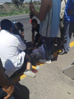 Atropellan a mujer y a bebé en Lagunillas