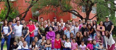 Se reúnen todas las generaciones de la familia Villalpando