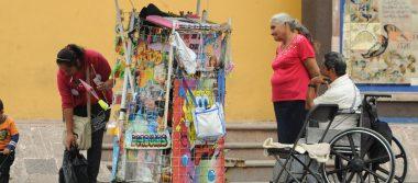 Comerciantes ambulantes 'inundan' el centro