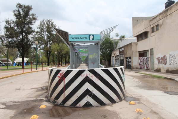 Desmantelarán microestación provisional del Parque Juárez