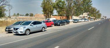 Detiene Movilidad a 10 coches de Uber