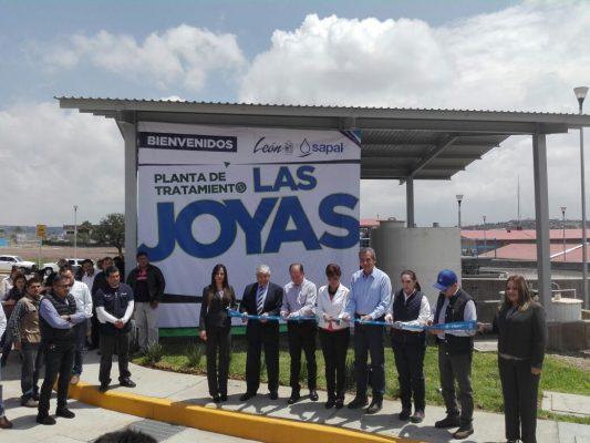 Inaugura Sapal nueva planta de tratamiento en las Joyas