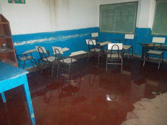Mínimas las afectaciones de lluvias en escuelas