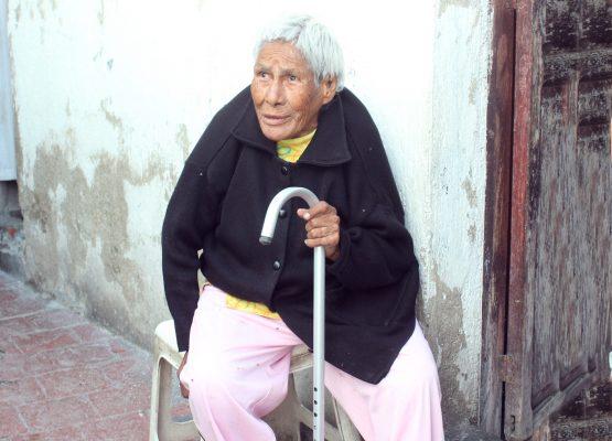 María Dolores, vive en situación de abandono